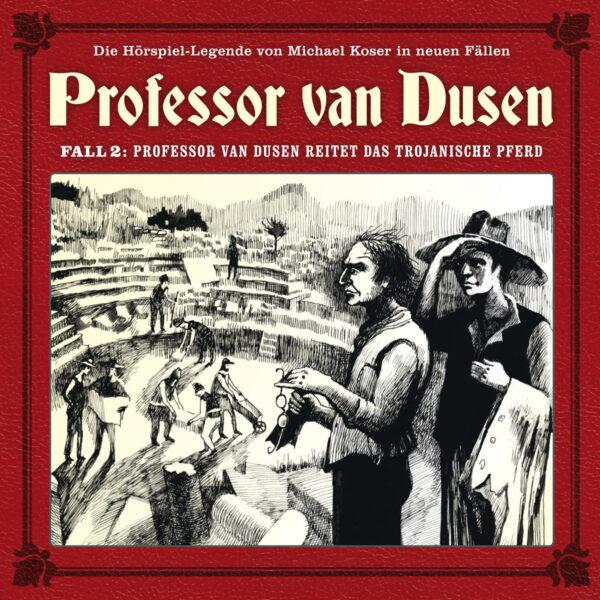Professor van Dusen reitet das trojanische Pferd