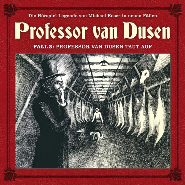 Professor van Dusen taut auf