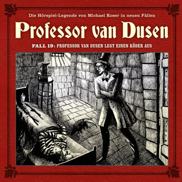 Professor van Dusen legt einen Köder aus