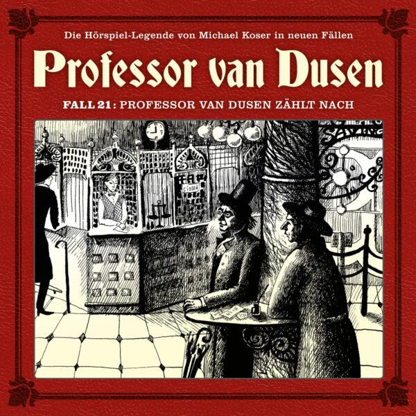 Professor van Dusen zählt nach