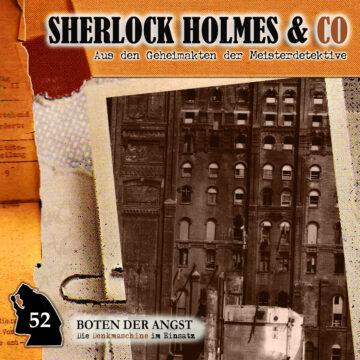 Sherlock Holmes und Co. 52: Boten der Angst