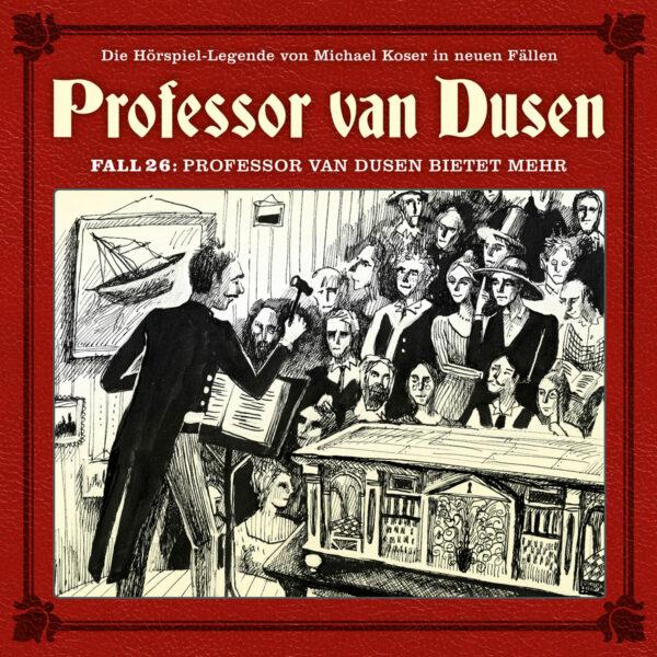 Neuer Fall 26: Professor van Dusen bietet mehr