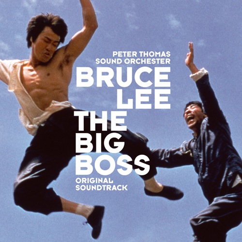 Bruce Lee - The Big Boss / original soundtrack (1973)