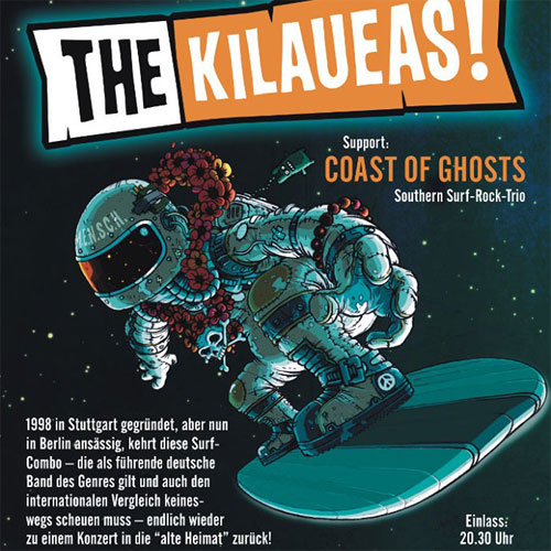 The Kilaueas live in Stuttgart